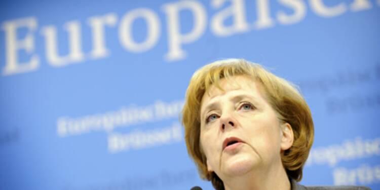 Pour Angela Merkel, Berlin aurait intérêt à une hausse de taux