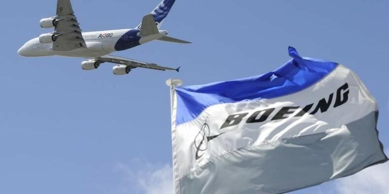 Airbus derrière Boeing dans la course aux commandes