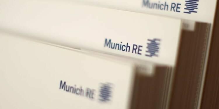 Munich Re rabote son objectif 2016 après un trimestre difficile
