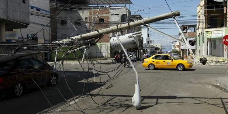 Le bilan du séisme en Equateur atteint les 350 morts