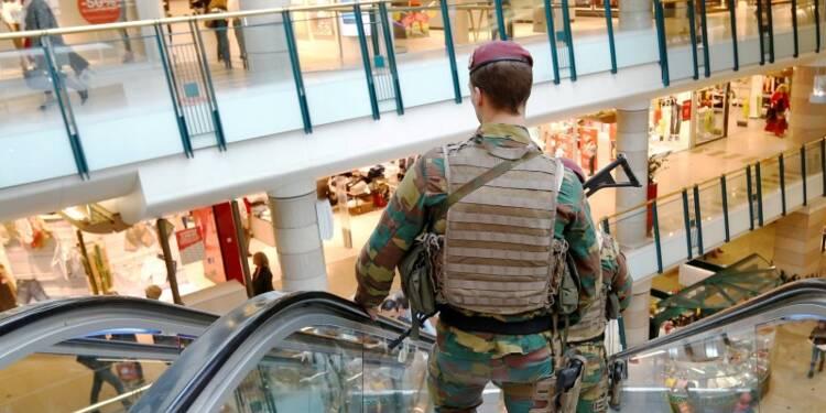 Pas d'explosif sur l'homme arrêté à Bruxelles