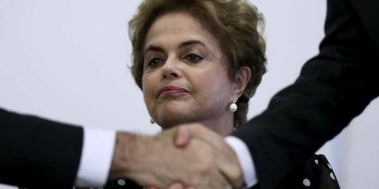 La procédure de destitution de Dilma Rousseff est engagée