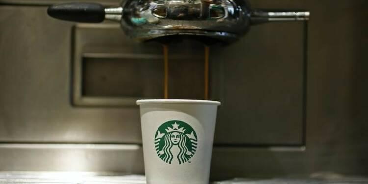 Starbucks publie des résultats en demi-teinte