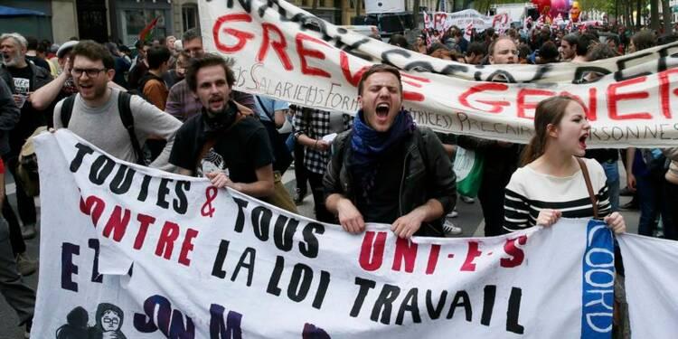 Début d'une semaine de grèves, nouvelles manifestations