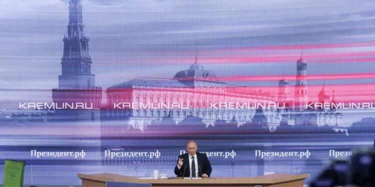 Vladimir Poutine appuie le processus diplomatique sur la Syrie