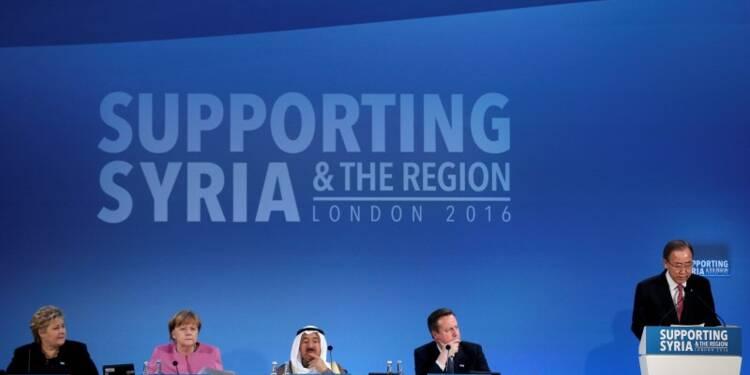 Plus de 10 milliards de dollars de dons promis aux Syriens
