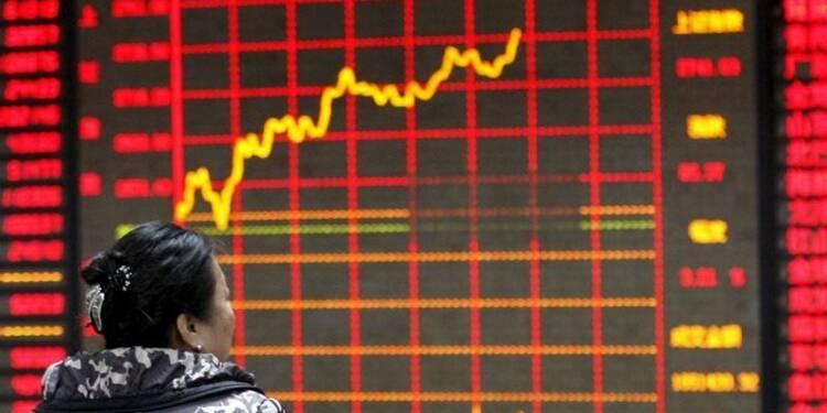 Krach historique à la Bourse de Shanghai en janvier, pire mois depuis 8 ans