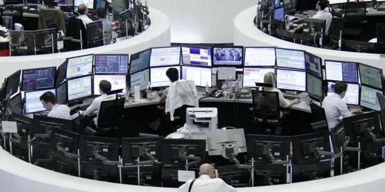 Poursuite du rebond des Bourses à la mi-séance en Europe