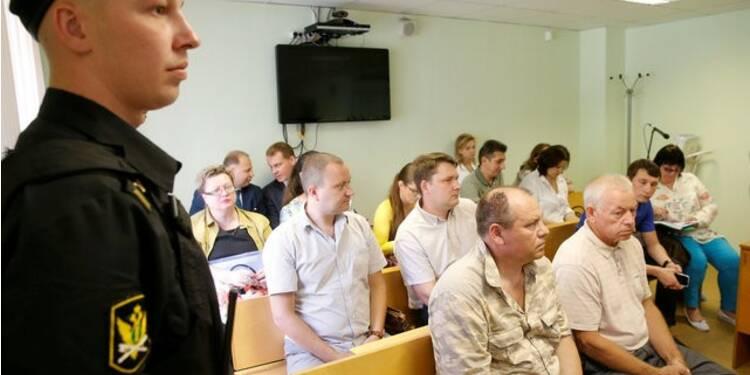 Deux employés russes plaident coupable pour la mort de Margerie