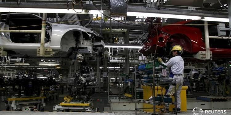 La production industrielle du Japon au plus bas en trois ans