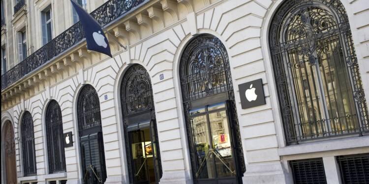Apple France n'a payé que 13 millions d'euros d'impôts en 2015