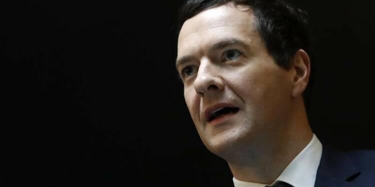 Osborne assure que Londres peut assumer les remous post-Brexit