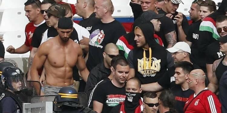 Prison avec sursis pour plusieurs supporters hongrois