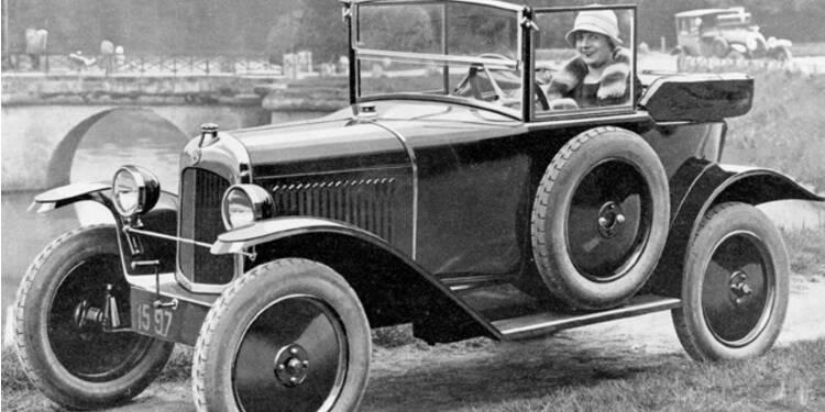 citroën type c, 1921 : l'auto pour tous arrive chez nous - capital.fr