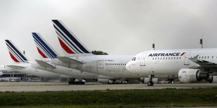 Air France compte assurer plus de 80% de ses vols ce week-end