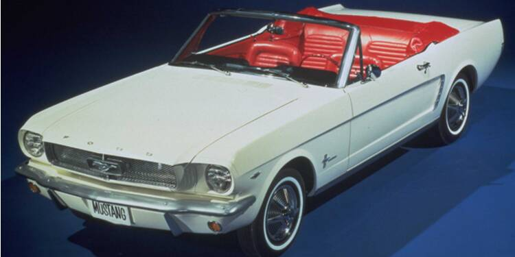 Ford Mustang, 1964 : L'étalon rebelle des baby-boomers