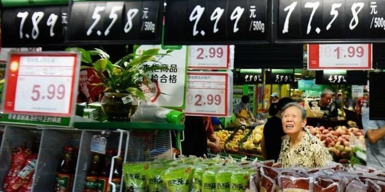 Net coup de frein sur l'économie chinoise