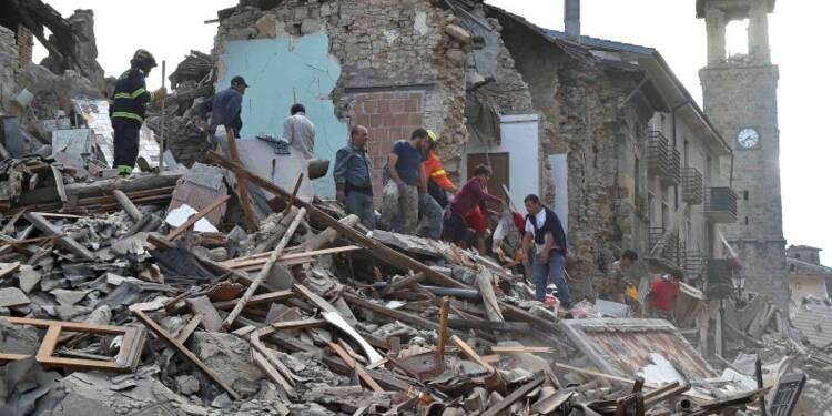 Le bilan du séisme en Italie s'alourdit à 73 morts