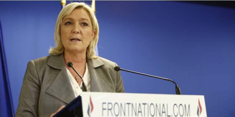 """Perquisition au siège du FN dans l'affaire des """"assistants fantômes"""""""