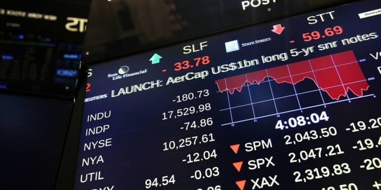 Wall Street termine en légère baisse (-0,11%)