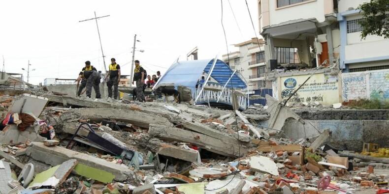 Le séisme en Equateur a fait au moins 233 morts et 1.500 blessés