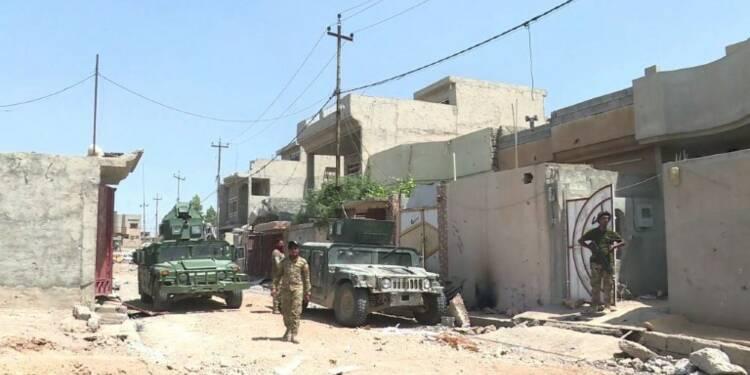 Les forces irakiennes progressent dans Mossoul-Ouest