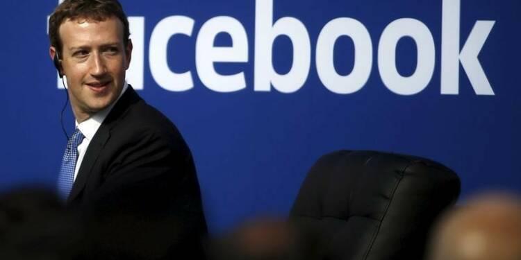 Envolée du CA de Facebook grâce aux recettes publicitaires