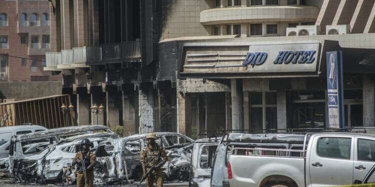 Attaque djihadiste meurtrière au coeur de Ouagadougou