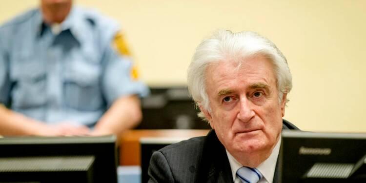 Radovan Karadzic condamné à 40 ans de prison pour génocide