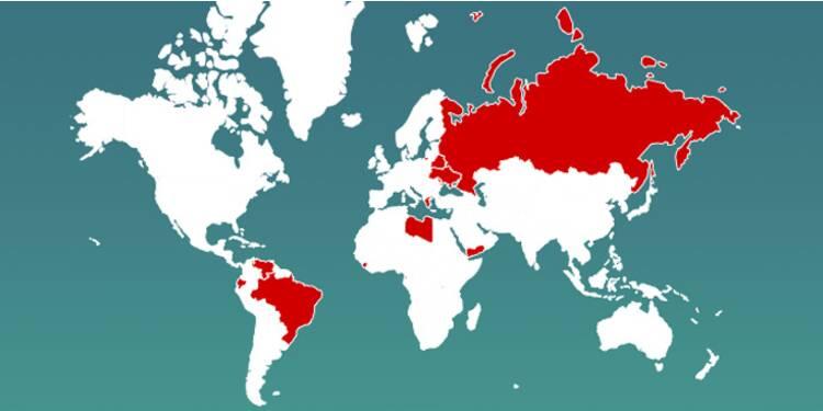 12 pays seront en récession en 2016, dont la Russie, le Brésil et l'Argentine