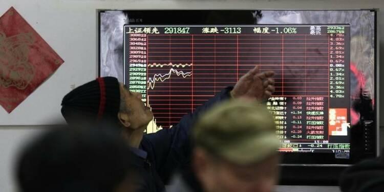 La Bourse de Shanghai perd déjà 19% depuis le début de l'année