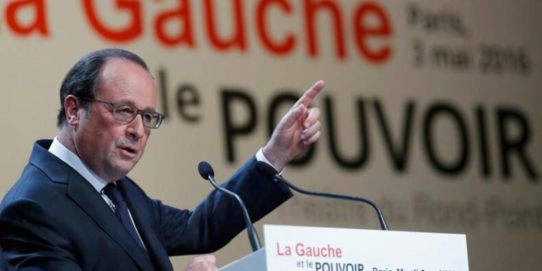 """François Hollande défend le """"compromis juste"""" de la loi Travail"""