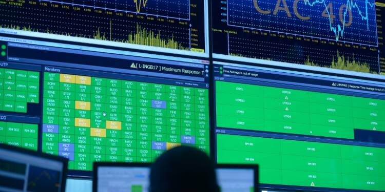 Marchés: recul limité des Bourses européennes après les attentats