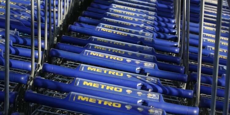 Metro annonce un projet de scission en deux
