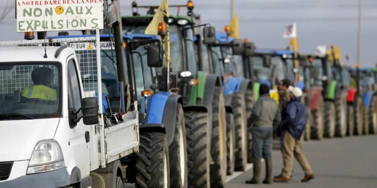 Des agriculteurs opposés à Notre-Dame-des-Landes évacués