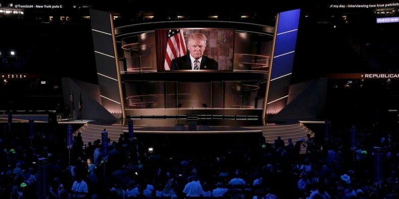 Donald Trump investi par le Parti républicain américain
