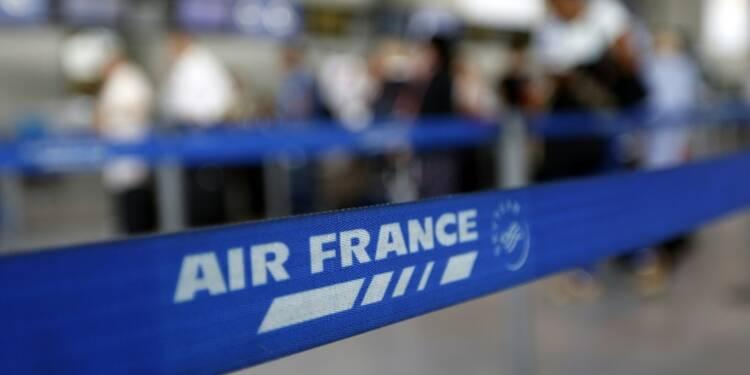 Air France: l'impact de la grève dépasse les 40 millions d'euros