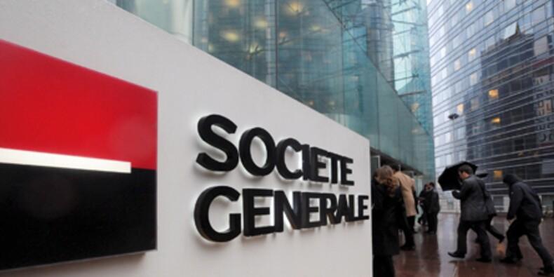 Société Générale rebondit modestement après ses comptes annuels
