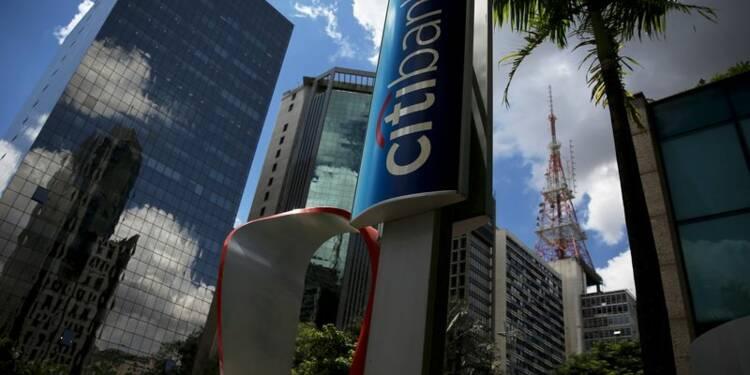 Baisse moins forte que prévu du bénéfice de Citigroup