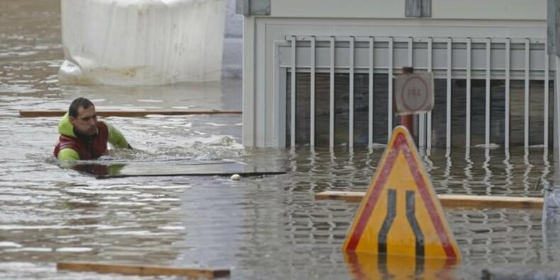 Le coût des inondations évalué jusqu'à 1,4 milliard d'euros
