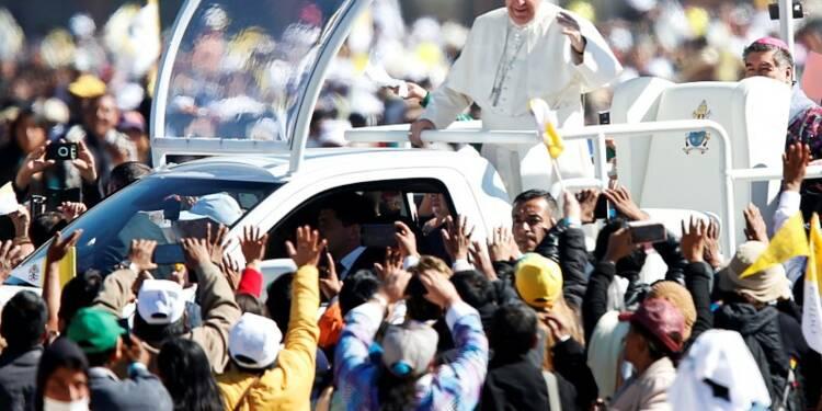 Le pape François à la rencontre des Indiens du Chiapas