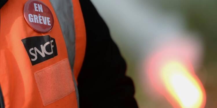 Grève SNCF: 60% des TGV assurés, 40% des Transiliens et la moitié des TER