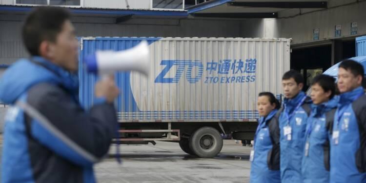 Le chinois ZTO Express envisage d'être coté à Wall Street