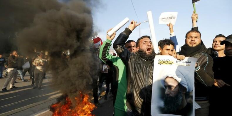 Manifestations anti-saoudiennes en Irak