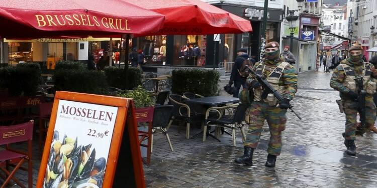 Le niveau d'alerte maximale maintenu à Bruxelles