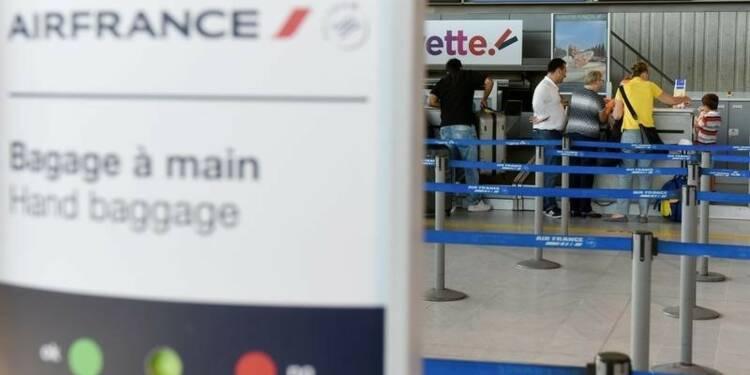 Entre 70% et 90% des vols Air France assurés samedi