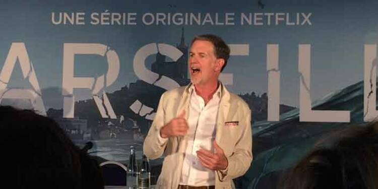 """""""C'est en investissant dans des séries et films exclusifs comme Marseille que nous garderons nos abonnés"""", Reed Hastings, P-DG de Netflix"""