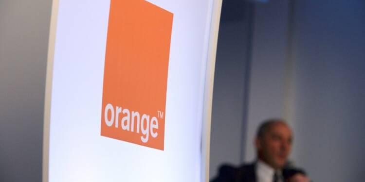 Orange: inquiétude sur la baisse d'activité en France
