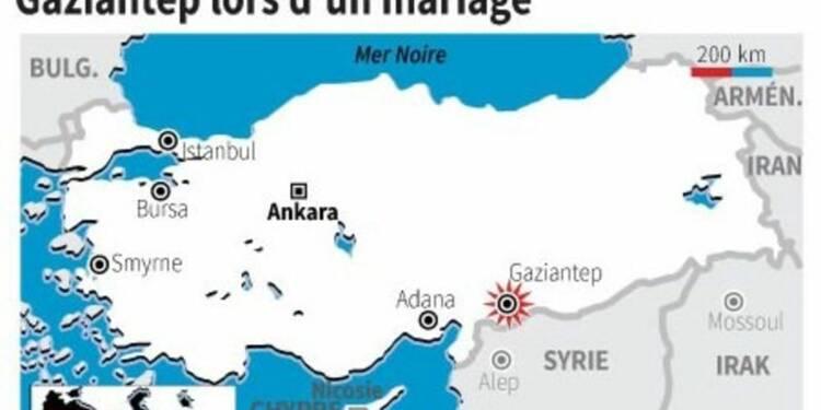 Un attentat lors d'un mariage fait au moins 51 morts en Turquie
