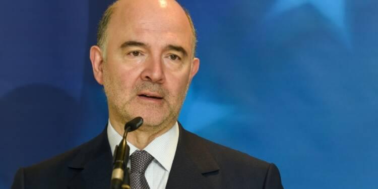 GB: Moscovici critique l'idée  de baisser l'impôt sur les sociétés